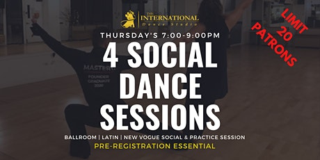[OCTOBER] 4 Social & Competition Thursday Practice Sessions tickets