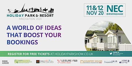 Holiday Park & Resort Innovation tickets