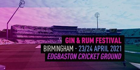 The Gin & Rum Festival - Birmingham - 2021 tickets