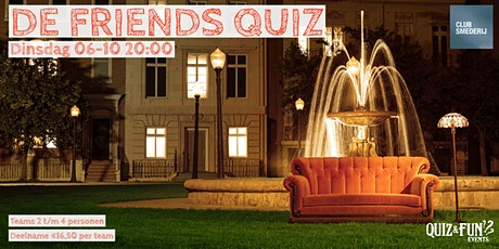 De Friends Quiz| Tilburg tickets