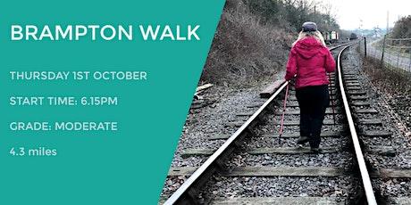 BRAMPTON  EVENING WALK | 4.35 MILES | MODERATE | NORTHANTS tickets