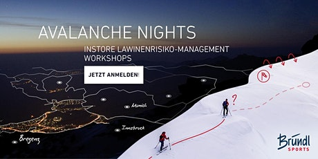 ORTOVOX AVALANCHE NIGHTS | Bründl Fügen Tickets