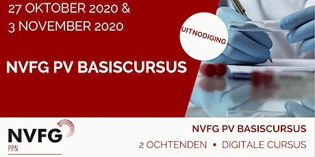 NVFG PV Basiscursus tickets