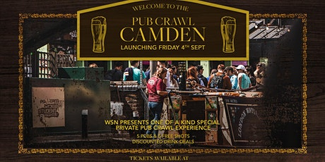 Camden Pub crawl - Every Friday tickets