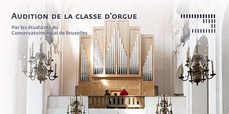 Audition de la classe d'orgue billets