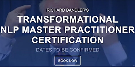 Licensed Master Practitioner of NLP™ tickets