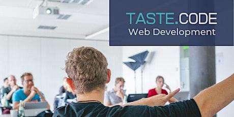 TASTE.CODE Web Development tickets