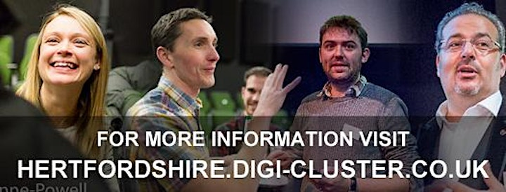 Digi-Cluster | Hertfordshire | A meetup for digital agency owners in Herts image