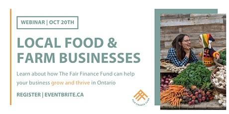 Loan Info Session:  Helping Local Food & Farm Businesses Grow & Thrive. tickets