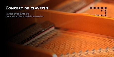 Concert de clavecin billets