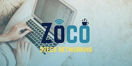 Zoco Speed Networking tickets