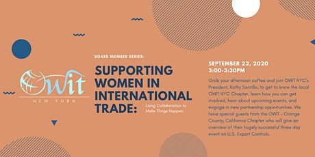 Supporting Women in International Trade tickets