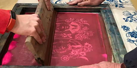 Introduction to screen printing one-day workshop tickets