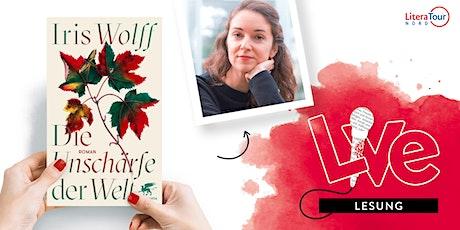 LESUNG: Iris Wolff Tickets