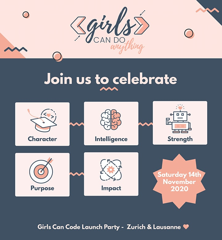 Girls Can Do Anything LAUNCH PARTY ***NOW ONLINE*** - Multilanguage image