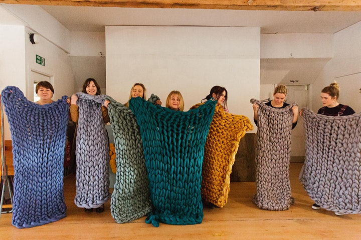 Arm Knit a Throw Workshop image