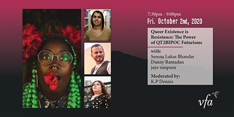 Queer Existence is Resistance: The Power of QT2BIPOC Futurisms tickets