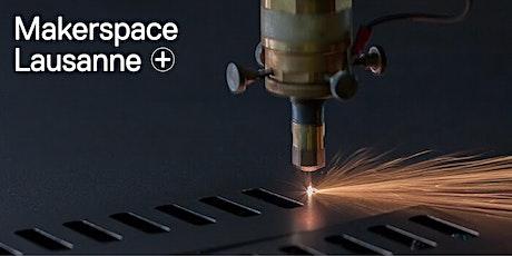 Mise en route d'une découpeuse laser billets