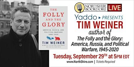 Northshire Live: Yaddo Presents Tim Weiner  with Garrett M. Graff tickets