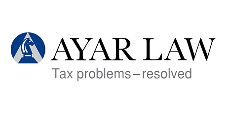 Ayar Law Foundations in Tax Resolution tickets