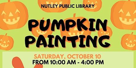 Pumpkin Painting (10/10/20) tickets