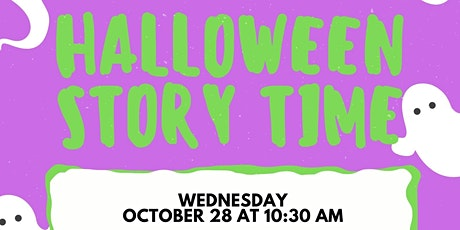 Halloween Story Time (October 28 at 10:30 AM) tickets