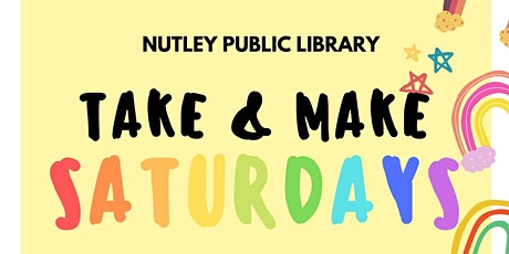 Take & Make Saturday (10/24/20) tickets