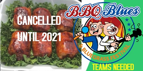 2020 CANCELLED-Cleveland, TN 3rd Annual BBQ Blues and Bluegrass Festival tickets