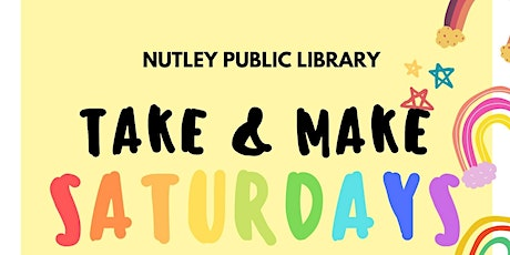 Take & Make Saturday (11/14/20) tickets