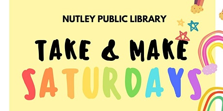 Take & Make Saturday (11/21/20) tickets