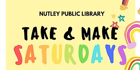 Take & Make Saturday (12/12/20) tickets