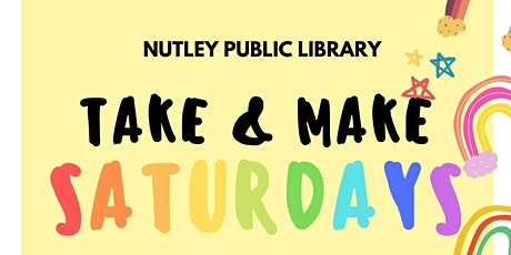 Take & Make Saturday (12/19/20) tickets
