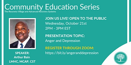 Community Education Series: Anger and Depression tickets