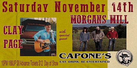 Clay Page with Special Guest Morgans Mill tickets