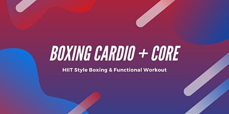 Boxing Cardio Core tickets