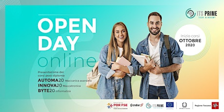 ITS Prime-Tech Academy: Open day online biglietti