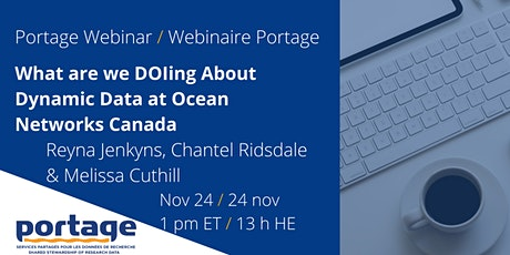 What are we DOIng about Dynamic Data at Ocean Networks Canada? tickets