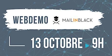 Webdemo Sécurité Informatique - Mailinblack billets