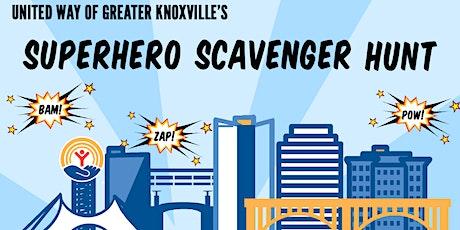 The Superhero Scavenger Hunt tickets