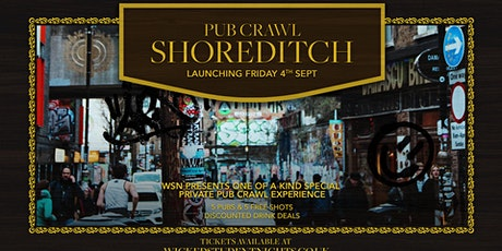 Shoreditch Pub crawl - Every Friday tickets