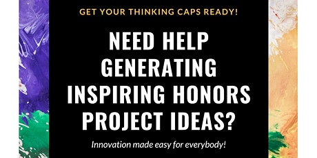Senior Honors Project Ideation Workshop tickets
