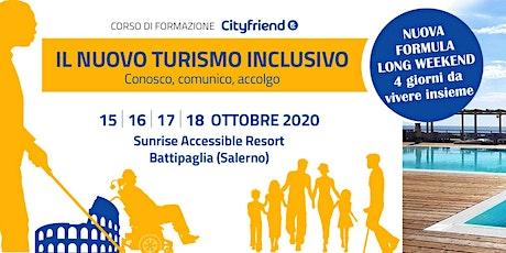 Il nuovo turismo inclusivo - conosco, comunico, accolgo biglietti