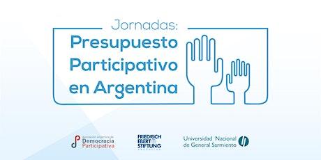 Jornadas de Presupuesto Participativo en Argentina entradas