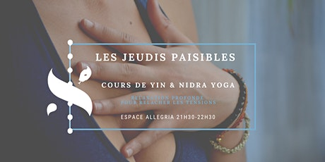 Les jeudis paisibles - Yoga Nidra billets