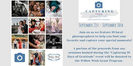 Capturing 10 Days of Gratitude Photo Fundraiser tickets