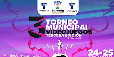 Torneo Municipal de Videojuegos 2020 entradas
