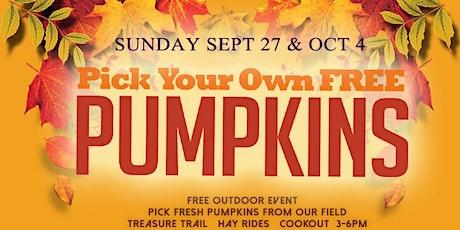 DaySpring's Free Pumpkin Patch & Harvest Fest tickets