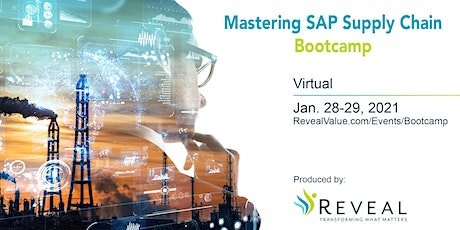 Mastering SAP Supply Chain Bootcamp tickets