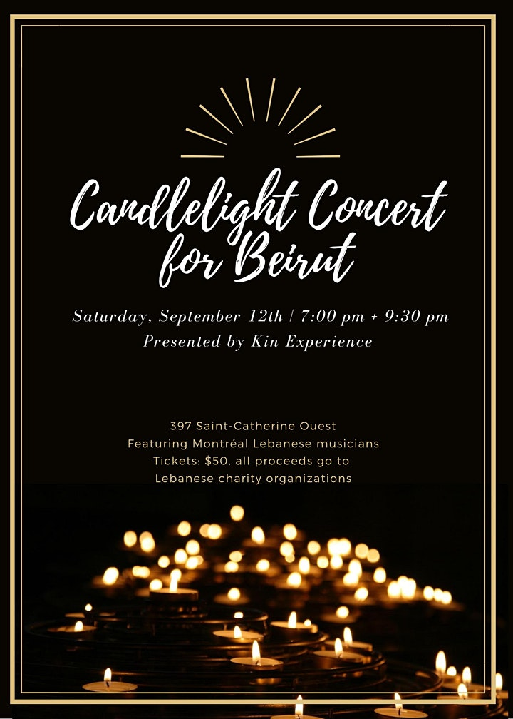 Candlelight Concert for Beirut image