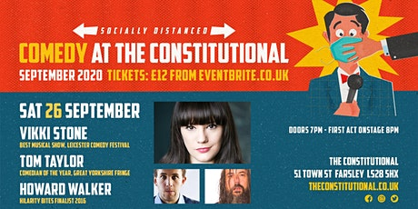 Comedy at The Constitutional: Saturday 26 Sept 2020 tickets